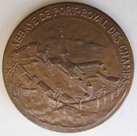 Medaille En Bronze Abbaye De Port Royal Des Champs -Yvelines , Par Lay - Autres