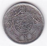 Saudi Arabia 1/4 Riyal AH 1354 . Abd Al-Aziz . Argent. KM# 16 - Saudi Arabia