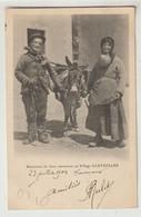 Hautes Alpes Rencontre De Deux Amoureux Au Village GLEYZOLLES  1903 - Altri Comuni