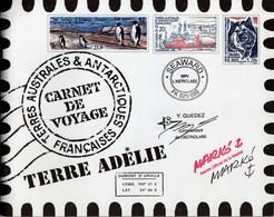 TAAF 2001 - CARNET DE VOYAGE N° C 308 - TIMBRES N° Yvert Et Tellier 308 A 321 - LUXE - Ongebruikt