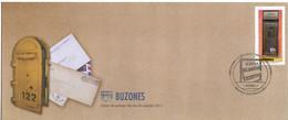 GUATEMALA 2011 UPU UPAE UPAEP UNION POSTAL AMERICA ESPANA PORTUGAL SERIE AMERICA FDC MAILBOXES BUZONES CASSETTE POSTALI - WPV (Weltpostverein)