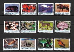 ANGOLA 1999 Endangered Animals - Angola