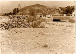 PRES DE CONTES. 06 . PONT EMBRANCHEMENT ROUTE COARAZE / SOSPEL . 1953 - Luoghi