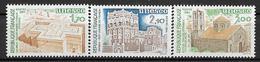 France 1984 - Service 9 TP - UNESCO  Y&T N° 79/80/81 ** Neufs Luxe 1er Choix (TTB). - Neufs