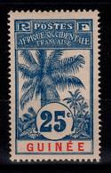 Guinee - YV 39 N* (forte) Cote 8,00 Euros - Nuevos