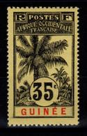Guinee - YV 41 N* Cote 5,50 Euros - Nuevos