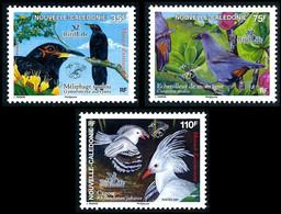 NOUV.-CALEDONIE 2007 - Yv. 1004 1005 Et 1006 ** Faciale= 1,84 EUR - Oiseaux Menacés D'extinction (3 Val.) ..Réf.NCE26700 - Nuovi