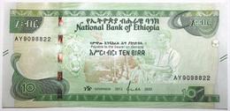 Éthiopie - 10 Birr - 2020 - PICK 53a - NEUF - Ethiopia