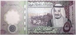 Arabie Saoudite - 5 Riyal - 2020 - PICK 43a - NEUF - Arabia Saudita