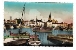 Port Et Quai De Saint Gilles Croix De Vie ( Jehly Poupin) - Saint Gilles Croix De Vie
