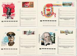 0609-20 / Sowjetunion - 1977 - 4 Sonderpostkarten ** / € 1.00 - 1970-79