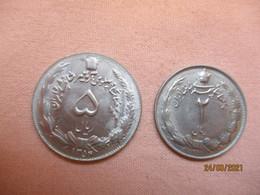 Iran: 5 + 2 Rials 1352 HE - Iran