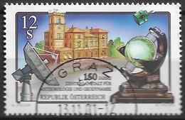 2001 Austria Österreich Mi. 2358 Used  150 Jahre Zentralanstalt Für Meteorologie Und Geodynamik, Wien. - 2001-10 Gebraucht
