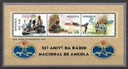 ANGOLA  2001 National Radio - Angola