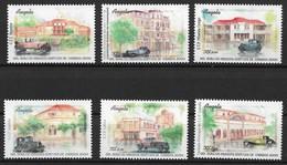 ANGOLA 2000 Post Office Buildings - Angola