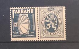 PU 5 - 5 Cent Heraldieke Leeuw FARRAND  POSTFRIS - Pubblicitari