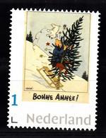 Nederland Persoonlijke Zegel  Thema: Kuifje Met Bobby, Kerstboom, Zeer Zeldzaam, TinTin, Zelfklevend - Nuevos