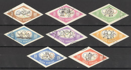 Rumänien 2317/24 O Olympia Tokio 1964 - Used Stamps