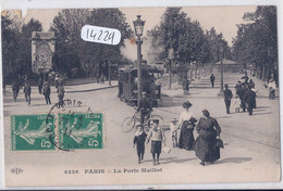 PARIS XVI- LA PORTE MAILLOT- LE TRAM- 4226 ELD - District 16
