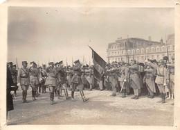 Photographie     Guerre Arrivée Du Général Pershing Au Havre  76 (voir Scan Et Commentaires) - Otros