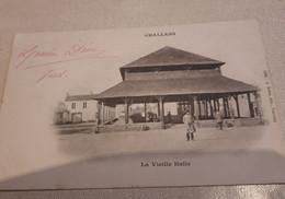 CPA   CHALLANS     LA VIEILLE  HALLE  1903 - Challans