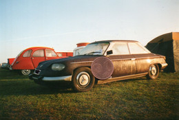 Photographie  Originale. Automobile Panhard PL24. - Cars