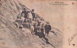 Knokke Knocke 1905 Au Littoral Belge Un Groupe Dans Les Dunes - Knokke