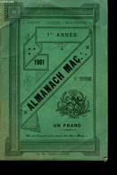 Almanach Maçonnique 1901 - COLLECTIF - 1901 - Zonder Classificatie