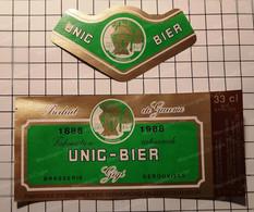 Bieretiketten Biere Etiquette Brouwerij Unic-Bier Gigi Gerouville  #7.05 - Bier