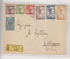 SLOVENIA, SHS 1919 LJUBLJANA Nice Registered Cover - Slovénie