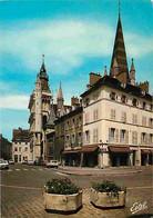 21 - Dijon - Place Et Eglise Notre Dame - Automobiles - CPM - Voir Scans Recto-Verso - Dijon
