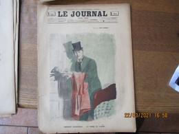 LE JOURNAL POUR TOUS DU 6 NOVEMBRE 1895 DESSIN DE LUC LEGUEY,GYP,LECURIOT...... - Tijdschriften - Voor 1900