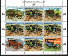 Paraguay  Ceirano Voiture Car Auto, Mnh 3971 KB Kleinbogen - Paraguay