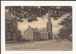 's Gravenwezel : De Kerk En De School 1925 - Schilde