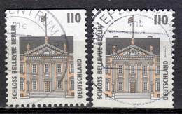 D+ Deutschland 1997 Mi 1935 C 1935 D Schloss Bellevue Berlin - Gebraucht
