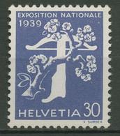 Schweiz 1939 Schweiz. Landesausstellung, Franz. Inschrift 351 Y Postfrisch - Neufs