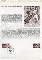 DOCUMENT PHILATELIQUE OFFICIEL N°15-74 - 21° JEUX OLYMPIQUES ECHIQUEENS (N°1800 YVERT ET TELLIER) - LAMBERT P. - 1974 - Lettres & Documents