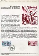 DOCUMENT PHILATELIQUE OFFICIEL N°14-74 - 30° ANNIVERSAIRE DU DEBARQUEMENT EN NORMANDIE (N°1799 YVERT ET TELLIER) - HALEY - Lettres & Documents