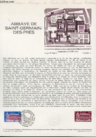 DOCUMENT PHILATELIQUE OFFICIEL N°11-79 - ABBAYE DE SAINT GERMAIN DES PRES (N°2045 YVERT ET TELLIER) - GAUTHIER - 1979 - Lettres & Documents