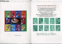 DOCUMENT PHILATELIQUE OFFICIEL - COUPE DU MONDE DE FOOTBALL, FRANCE 98 (N°BF 9 YVERT ET TELLIER) - ** - 1998 - Lettres & Documents