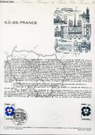 DOCUMENT PHILATELIQUE OFFICIEL N°12-78 - ILE DE FRANCE (N°1991 YVERT ET TELLIER) - DURRENS C. - 1978 - Lettres & Documents