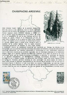 DOCUMENT PHILATELIQUE OFFICIEL N°14-77 - CHAMPAGNE-ARDENNE (N°192 YVERT ET TELLIER) - HIROLY R. - GLULEY C. - 1977 - Lettres & Documents