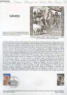DOCUMENT PHILATELIQUE OFFICIEL N°14-81 - LA MAISON CARREE A NIMES (N°2133 YVERT ET TELLIER) - GOFFIN DEL - 1981 - Lettres & Documents