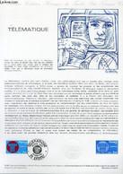 DOCUMENT PHILATELIQUE OFFICIEL N°12-81 - TELEMATIQUE (N°2130 YVERT ET TELLIER) - HALEY C. - 1981 - Lettres & Documents
