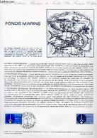 DOCUMENT PHILATELIQUE OFFICIEL N°11-81 - FONDS MARINS (N°2129 YVERT ET TELLIER) - BETEMPS G. - ANDREOTTO - 1981 - Lettres & Documents