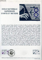 DOCUMENT PHILATELIQUE OFFICIEL N°14-80 - ECOLE NATIONALE SUPERIEURE D'ART ET METIERS (N°2087 YVERT ET TELLIER) - BETEMPS - Lettres & Documents