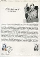 DOCUMENT PHILATELIQUE OFFICIEL N°14-79 - LEON JOUHAUX 1879-1954 (N°2030 YVERT ET TELLIER) - COMBET J. - 1979 - Lettres & Documents
