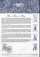 DOCUMENT PHILATELIQUE OFFICIEL N°14-83 - FLORE ET FAUNE DE FRANCE - CARLINE (N°2266 YVERT ET TELLIER) - *** - 1983 - Lettres & Documents