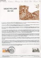 DOCUMENT PHILATELIQUE OFFICIEL N°14-85 - MONTPELLIER 985-1985 (N°2350 YVERT ET TELLIER) - ALBUISSON - 1985 - Lettres & Documents