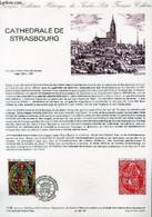 DOCUMENT PHILATELIQUE OFFICIEL N°15-85 - CATHEDRALE DE STRASBOURG (N°2363 YVERT ET TELLIER) - LARRIVIERE S. C. - 1985 - Lettres & Documents